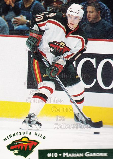 2001-02 Minnesota Wild Crime Prevention #18 Marian Gaborik<br/>10 In Stock - $3.00 each - <a href=https://centericecollectibles.foxycart.com/cart?name=2001-02%20Minnesota%20Wild%20Crime%20Prevention%20%2318%20Marian%20Gaborik...&quantity_max=10&price=$3.00&code=100052 class=foxycart> Buy it now! </a>