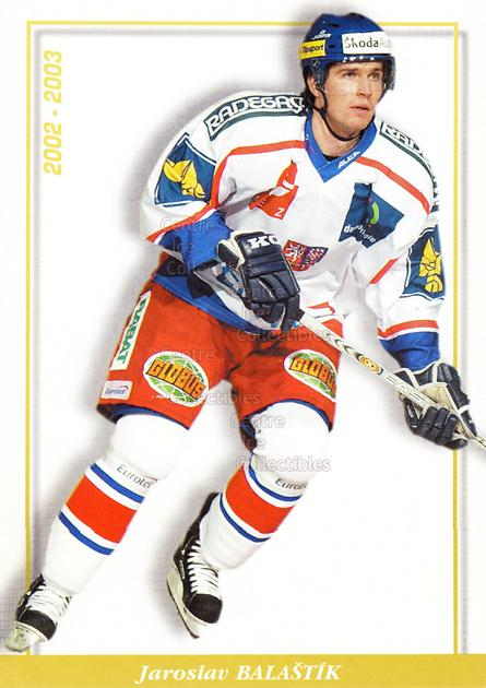 2003-04 Czech National Team Postcards #20 Jaroslav Balastik<br/>2 In Stock - $3.00 each - <a href=https://centericecollectibles.foxycart.com/cart?name=2003-04%20Czech%20National%20Team%20Postcards%20%2320%20Jaroslav%20Balast...&quantity_max=2&price=$3.00&code=100100 class=foxycart> Buy it now! </a>