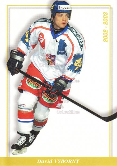 2003-04 Czech National Team Postcards #29 David Vyborny<br/>2 In Stock - $3.00 each - <a href=https://centericecollectibles.foxycart.com/cart?name=2003-04%20Czech%20National%20Team%20Postcards%20%2329%20David%20Vyborny...&quantity_max=2&price=$3.00&code=100106 class=foxycart> Buy it now! </a>