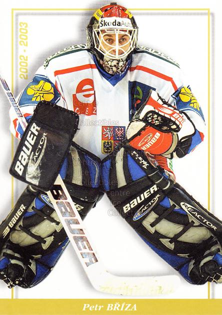 2003-04 Czech National Team Postcards #18 Petr Briza<br/>4 In Stock - $3.00 each - <a href=https://centericecollectibles.foxycart.com/cart?name=2003-04%20Czech%20National%20Team%20Postcards%20%2318%20Petr%20Briza...&quantity_max=4&price=$3.00&code=100108 class=foxycart> Buy it now! </a>