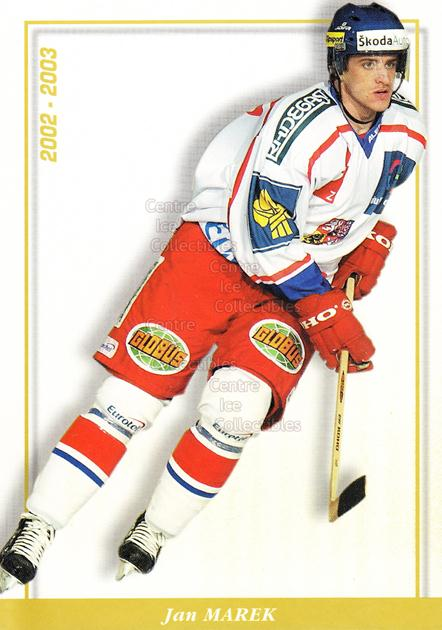 2003-04 Czech National Team Postcards #21 Jan Marek<br/>4 In Stock - $3.00 each - <a href=https://centericecollectibles.foxycart.com/cart?name=2003-04%20Czech%20National%20Team%20Postcards%20%2321%20Jan%20Marek...&quantity_max=4&price=$3.00&code=100111 class=foxycart> Buy it now! </a>