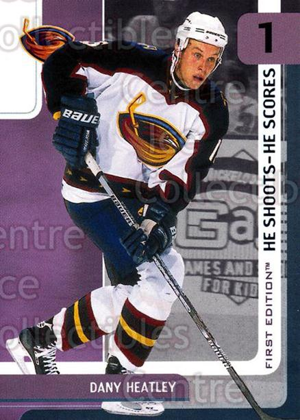 2002-03 BAP First Edition Points #4 Dany Heatley<br/>5 In Stock - $2.00 each - <a href=https://centericecollectibles.foxycart.com/cart?name=2002-03%20BAP%20First%20Edition%20Points%20%234%20Dany%20Heatley...&quantity_max=5&price=$2.00&code=100741 class=foxycart> Buy it now! </a>