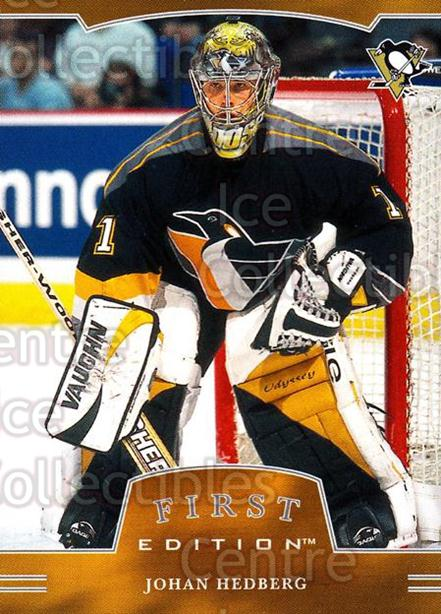 2002-03 BAP First Edition #189 Johan Hedberg<br/>3 In Stock - $1.00 each - <a href=https://centericecollectibles.foxycart.com/cart?name=2002-03%20BAP%20First%20Edition%20%23189%20Johan%20Hedberg...&quantity_max=3&price=$1.00&code=100840 class=foxycart> Buy it now! </a>