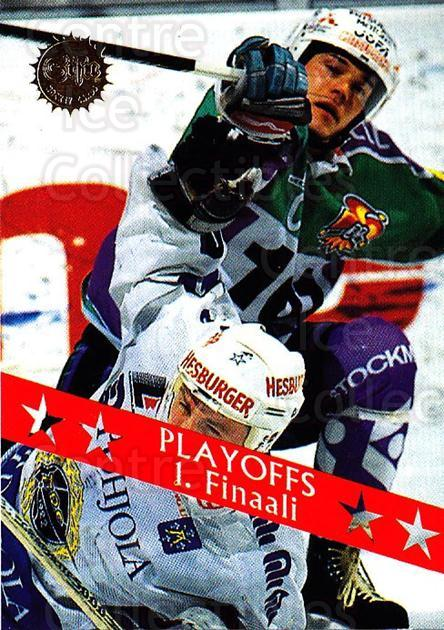 1994-95 Finnish SISU #197 Finals Game<br/>3 In Stock - $2.00 each - <a href=https://centericecollectibles.foxycart.com/cart?name=1994-95%20Finnish%20SISU%20%23197%20Finals%20Game...&quantity_max=3&price=$2.00&code=1011 class=foxycart> Buy it now! </a>