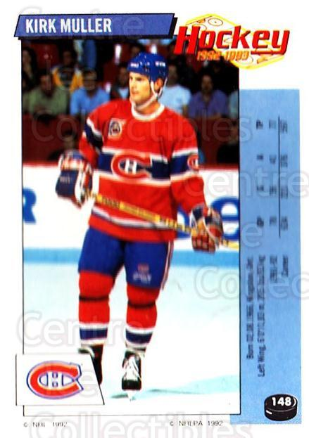 1992-93 Panini Stickers #148 Kirk Muller<br/>3 In Stock - $1.00 each - <a href=https://centericecollectibles.foxycart.com/cart?name=1992-93%20Panini%20Stickers%20%23148%20Kirk%20Muller...&quantity_max=3&price=$1.00&code=10136 class=foxycart> Buy it now! </a>