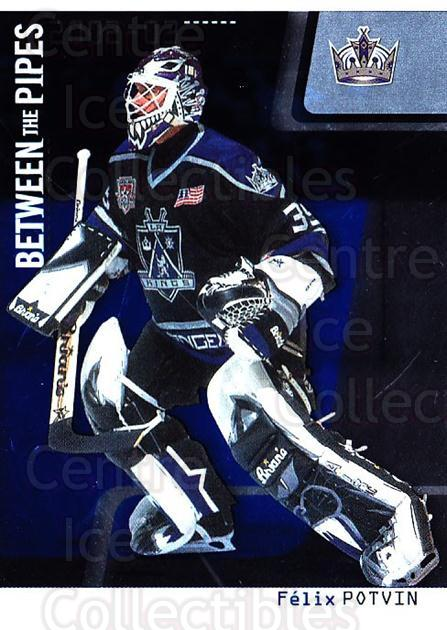 2002-03 Between the Pipes #27 Felix Potvin<br/>2 In Stock - $1.00 each - <a href=https://centericecollectibles.foxycart.com/cart?name=2002-03%20Between%20the%20Pipes%20%2327%20Felix%20Potvin...&quantity_max=2&price=$1.00&code=101667 class=foxycart> Buy it now! </a>