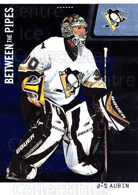 2002-03 Between the Pipes #30 Jean-Sebastien Aubin<br/>3 In Stock - $1.00 each - <a href=https://centericecollectibles.foxycart.com/cart?name=2002-03%20Between%20the%20Pipes%20%2330%20Jean-Sebastien%20...&quantity_max=3&price=$1.00&code=101671 class=foxycart> Buy it now! </a>