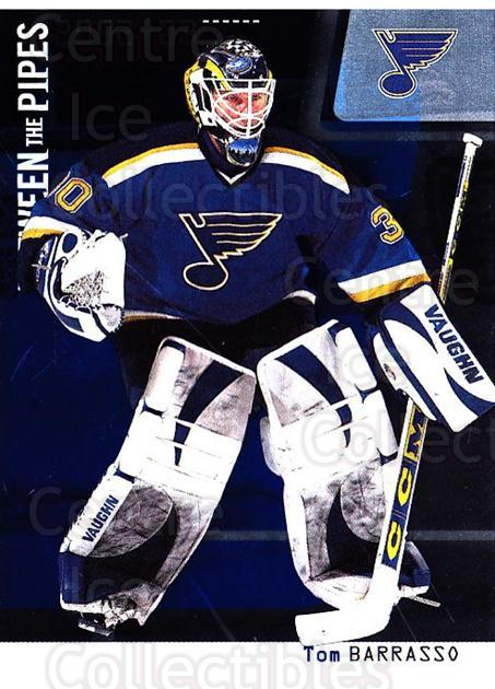 2002-03 Between the Pipes #69 Tom Barrasso<br/>7 In Stock - $1.00 each - <a href=https://centericecollectibles.foxycart.com/cart?name=2002-03%20Between%20the%20Pipes%20%2369%20Tom%20Barrasso...&price=$1.00&code=101706 class=foxycart> Buy it now! </a>