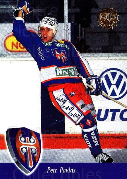 1994-95 Finnish SISU #205 Petr Pavlas<br/>2 In Stock - $2.00 each - <a href=https://centericecollectibles.foxycart.com/cart?name=1994-95%20Finnish%20SISU%20%23205%20Petr%20Pavlas...&quantity_max=2&price=$2.00&code=1017 class=foxycart> Buy it now! </a>