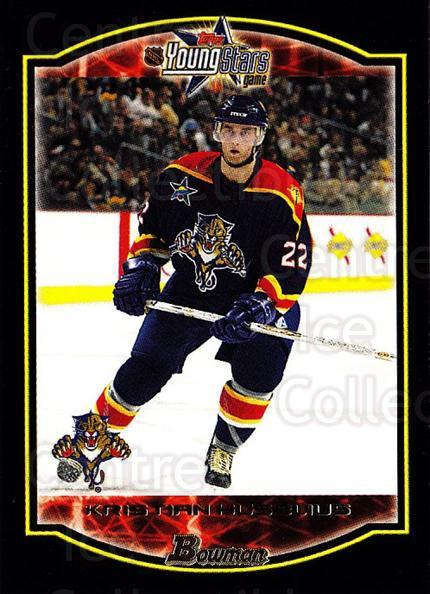 2002-03 Bowman YoungStars #143 Kristian Huselius<br/>3 In Stock - $1.00 each - <a href=https://centericecollectibles.foxycart.com/cart?name=2002-03%20Bowman%20YoungStars%20%23143%20Kristian%20Huseli...&quantity_max=3&price=$1.00&code=101865 class=foxycart> Buy it now! </a>