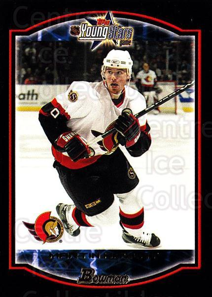 2002-03 Bowman YoungStars #48 Martin Havlat<br/>7 In Stock - $1.00 each - <a href=https://centericecollectibles.foxycart.com/cart?name=2002-03%20Bowman%20YoungStars%20%2348%20Martin%20Havlat...&quantity_max=7&price=$1.00&code=101917 class=foxycart> Buy it now! </a>
