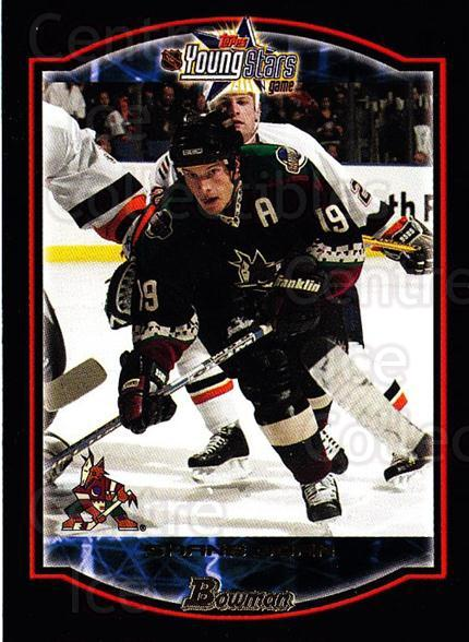 2002-03 Bowman YoungStars #95 Shane Doan<br/>5 In Stock - $1.00 each - <a href=https://centericecollectibles.foxycart.com/cart?name=2002-03%20Bowman%20YoungStars%20%2395%20Shane%20Doan...&quantity_max=5&price=$1.00&code=101966 class=foxycart> Buy it now! </a>