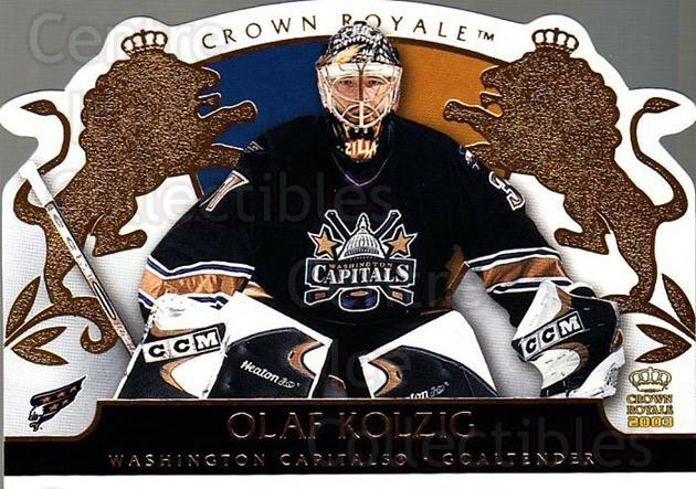 2002-03 Crown Royale #100 Olaf Kolzig<br/>5 In Stock - $1.00 each - <a href=https://centericecollectibles.foxycart.com/cart?name=2002-03%20Crown%20Royale%20%23100%20Olaf%20Kolzig...&quantity_max=5&price=$1.00&code=102184 class=foxycart> Buy it now! </a>