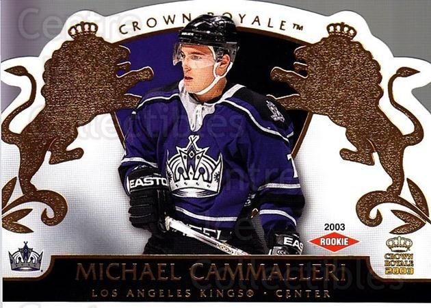 2002-03 Crown Royale #117 Mike Cammalleri<br/>1 In Stock - $3.00 each - <a href=https://centericecollectibles.foxycart.com/cart?name=2002-03%20Crown%20Royale%20%23117%20Mike%20Cammalleri...&quantity_max=1&price=$3.00&code=102199 class=foxycart> Buy it now! </a>