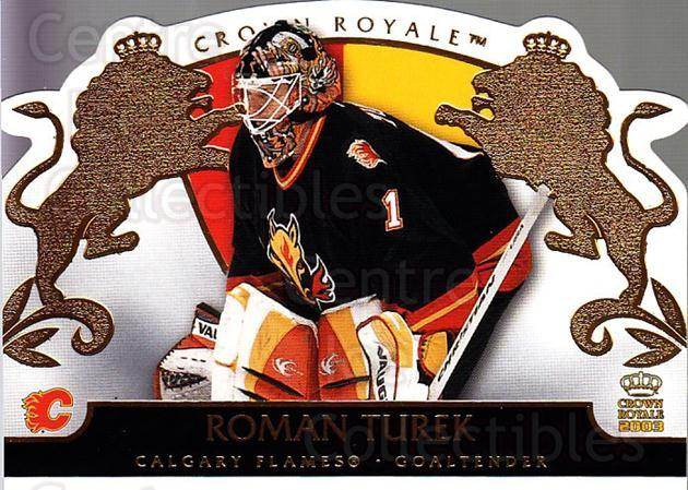 2002-03 Crown Royale #15 Roman Turek<br/>3 In Stock - $1.00 each - <a href=https://centericecollectibles.foxycart.com/cart?name=2002-03%20Crown%20Royale%20%2315%20Roman%20Turek...&quantity_max=3&price=$1.00&code=102225 class=foxycart> Buy it now! </a>