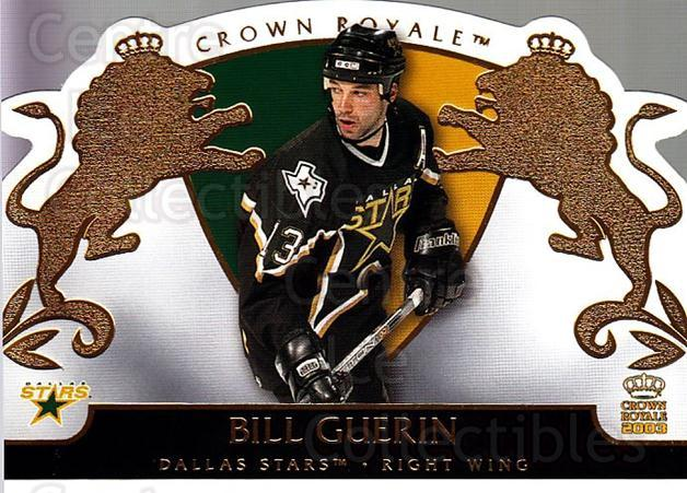2002-03 Crown Royale #29 Bill Guerin<br/>5 In Stock - $1.00 each - <a href=https://centericecollectibles.foxycart.com/cart?name=2002-03%20Crown%20Royale%20%2329%20Bill%20Guerin...&quantity_max=5&price=$1.00&code=102237 class=foxycart> Buy it now! </a>