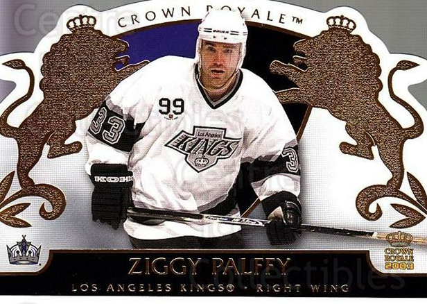 2002-03 Crown Royale #45 Zigmund Palffy<br/>5 In Stock - $1.00 each - <a href=https://centericecollectibles.foxycart.com/cart?name=2002-03%20Crown%20Royale%20%2345%20Zigmund%20Palffy...&quantity_max=5&price=$1.00&code=102251 class=foxycart> Buy it now! </a>