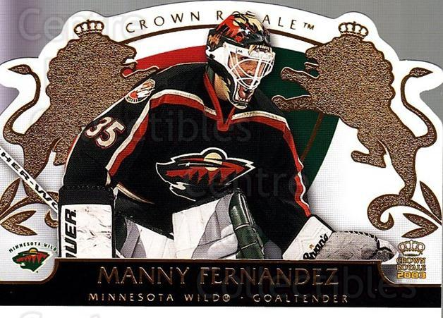 2002-03 Crown Royale #47 Manny Fernandez<br/>4 In Stock - $1.00 each - <a href=https://centericecollectibles.foxycart.com/cart?name=2002-03%20Crown%20Royale%20%2347%20Manny%20Fernandez...&quantity_max=4&price=$1.00&code=102253 class=foxycart> Buy it now! </a>