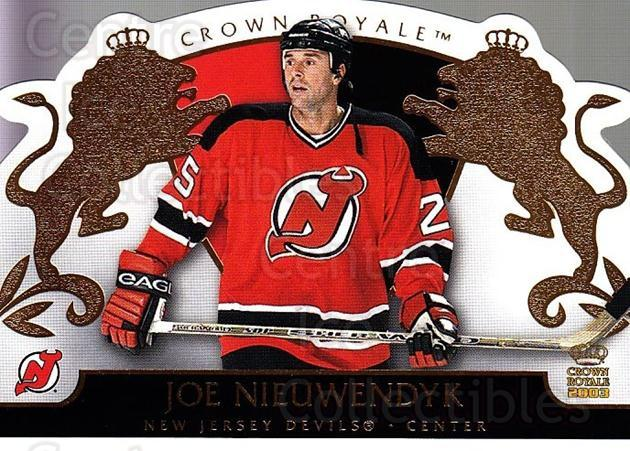 2002-03 Crown Royale #59 Joe Nieuwendyk<br/>9 In Stock - $1.00 each - <a href=https://centericecollectibles.foxycart.com/cart?name=2002-03%20Crown%20Royale%20%2359%20Joe%20Nieuwendyk...&quantity_max=9&price=$1.00&code=102265 class=foxycart> Buy it now! </a>
