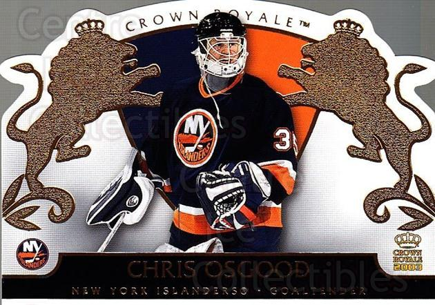 2002-03 Crown Royale #60 Chris Osgood<br/>6 In Stock - $1.00 each - <a href=https://centericecollectibles.foxycart.com/cart?name=2002-03%20Crown%20Royale%20%2360%20Chris%20Osgood...&quantity_max=6&price=$1.00&code=102267 class=foxycart> Buy it now! </a>