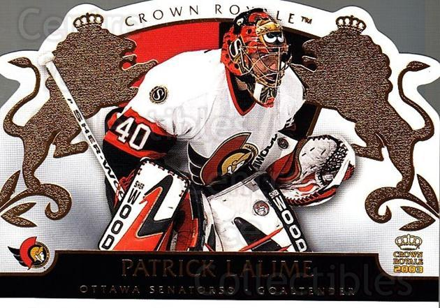 2002-03 Crown Royale #68 Patrick Lalime<br/>2 In Stock - $1.00 each - <a href=https://centericecollectibles.foxycart.com/cart?name=2002-03%20Crown%20Royale%20%2368%20Patrick%20Lalime...&quantity_max=2&price=$1.00&code=102274 class=foxycart> Buy it now! </a>