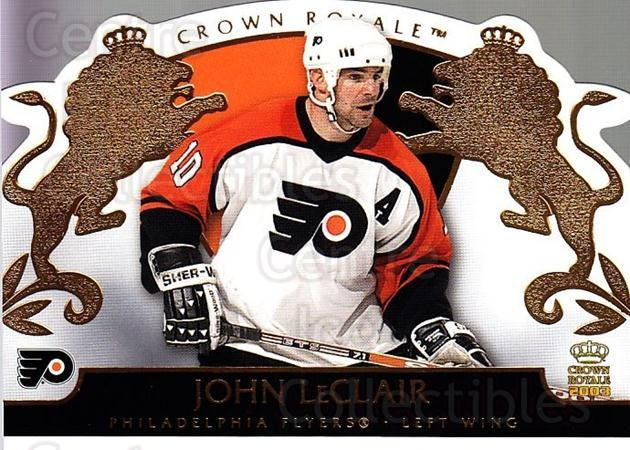 2002-03 Crown Royale #71 John LeClair<br/>3 In Stock - $1.00 each - <a href=https://centericecollectibles.foxycart.com/cart?name=2002-03%20Crown%20Royale%20%2371%20John%20LeClair...&quantity_max=3&price=$1.00&code=102278 class=foxycart> Buy it now! </a>