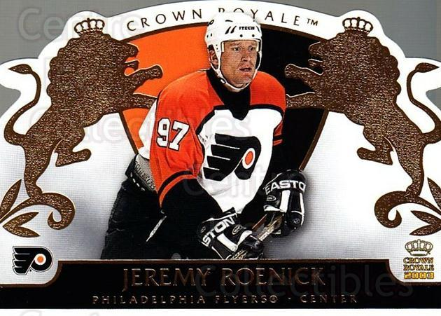 2002-03 Crown Royale #72 Jeremy Roenick<br/>3 In Stock - $2.00 each - <a href=https://centericecollectibles.foxycart.com/cart?name=2002-03%20Crown%20Royale%20%2372%20Jeremy%20Roenick...&quantity_max=3&price=$2.00&code=102279 class=foxycart> Buy it now! </a>