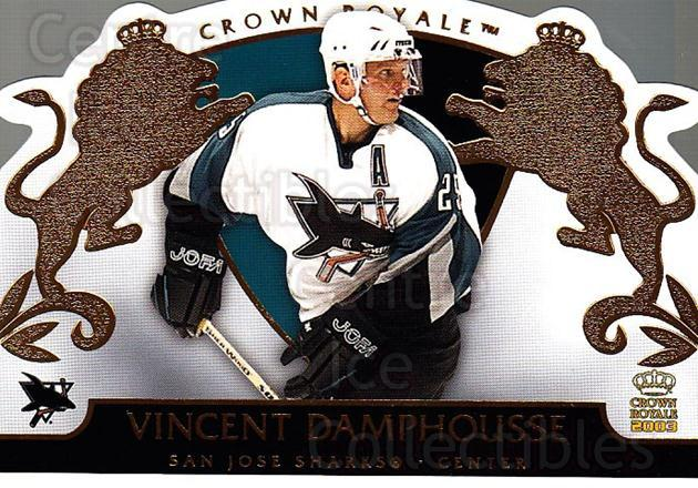 2002-03 Crown Royale #84 Vincent Damphousse<br/>5 In Stock - $1.00 each - <a href=https://centericecollectibles.foxycart.com/cart?name=2002-03%20Crown%20Royale%20%2384%20Vincent%20Damphou...&quantity_max=5&price=$1.00&code=102291 class=foxycart> Buy it now! </a>