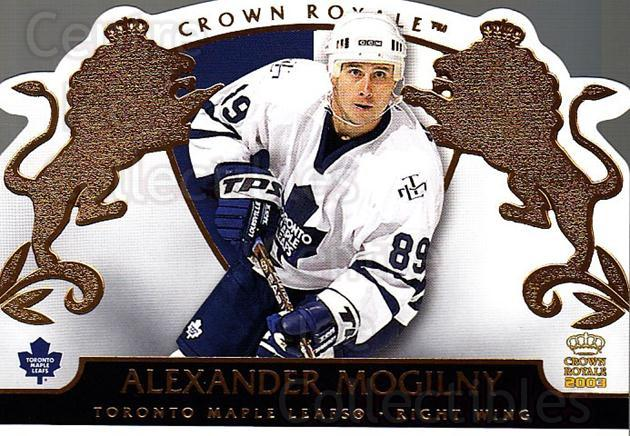2002-03 Crown Royale #92 Alexander Mogilny<br/>3 In Stock - $2.00 each - <a href=https://centericecollectibles.foxycart.com/cart?name=2002-03%20Crown%20Royale%20%2392%20Alexander%20Mogil...&quantity_max=3&price=$2.00&code=102299 class=foxycart> Buy it now! </a>