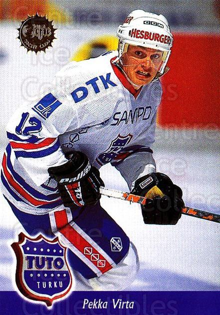 1994-95 Finnish SISU #212 Pekka Virta<br/>3 In Stock - $2.00 each - <a href=https://centericecollectibles.foxycart.com/cart?name=1994-95%20Finnish%20SISU%20%23212%20Pekka%20Virta...&quantity_max=3&price=$2.00&code=1022 class=foxycart> Buy it now! </a>