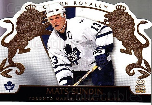 2002-03 Crown Royale #93 Mats Sundin<br/>3 In Stock - $2.00 each - <a href=https://centericecollectibles.foxycart.com/cart?name=2002-03%20Crown%20Royale%20%2393%20Mats%20Sundin...&quantity_max=3&price=$2.00&code=102300 class=foxycart> Buy it now! </a>