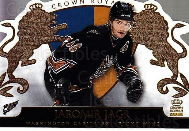 2002-03 Crown Royale #99 Jaromir Jagr<br/>2 In Stock - $3.00 each - <a href=https://centericecollectibles.foxycart.com/cart?name=2002-03%20Crown%20Royale%20%2399%20Jaromir%20Jagr...&quantity_max=2&price=$3.00&code=102306 class=foxycart> Buy it now! </a>