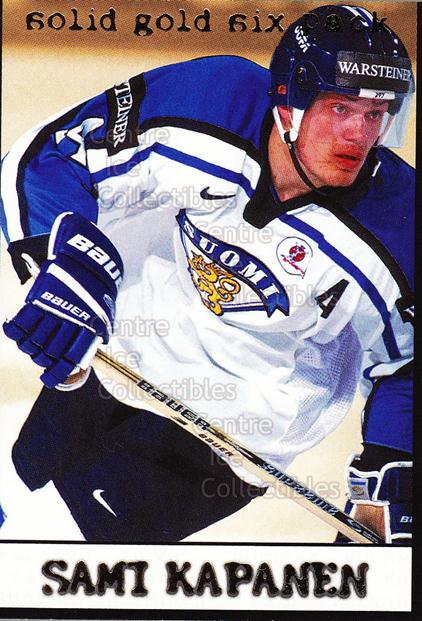 2002-03 Finnish Cardset Solid Gold #4 Sami Kapanen<br/>5 In Stock - $3.00 each - <a href=https://centericecollectibles.foxycart.com/cart?name=2002-03%20Finnish%20Cardset%20Solid%20Gold%20%234%20Sami%20Kapanen...&quantity_max=5&price=$3.00&code=102630 class=foxycart> Buy it now! </a>