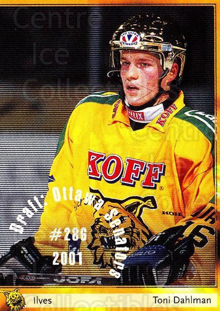 2002-03 Finnish Cardset #11 Toni Dahlman<br/>4 In Stock - $2.00 each - <a href=https://centericecollectibles.foxycart.com/cart?name=2002-03%20Finnish%20Cardset%20%2311%20Toni%20Dahlman...&quantity_max=4&price=$2.00&code=102642 class=foxycart> Buy it now! </a>