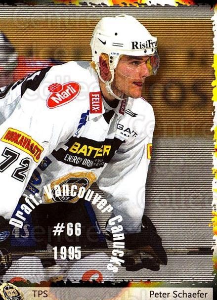 2002-03 Finnish Cardset #113 Peter Schaefer<br/>4 In Stock - $2.00 each - <a href=https://centericecollectibles.foxycart.com/cart?name=2002-03%20Finnish%20Cardset%20%23113%20Peter%20Schaefer...&quantity_max=4&price=$2.00&code=102646 class=foxycart> Buy it now! </a>