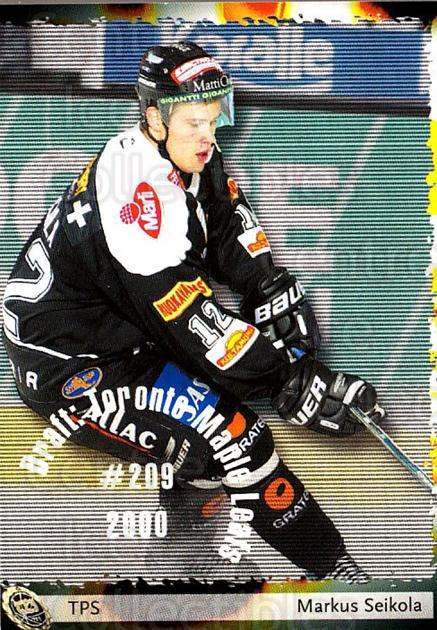 2002-03 Finnish Cardset #114 Markus Seikola<br/>7 In Stock - $2.00 each - <a href=https://centericecollectibles.foxycart.com/cart?name=2002-03%20Finnish%20Cardset%20%23114%20Markus%20Seikola...&quantity_max=7&price=$2.00&code=102647 class=foxycart> Buy it now! </a>