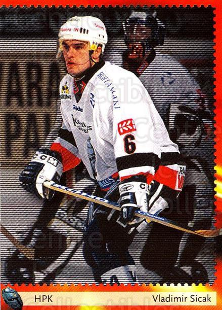 2002-03 Finnish Cardset #117 Vladimir Sicak<br/>4 In Stock - $2.00 each - <a href=https://centericecollectibles.foxycart.com/cart?name=2002-03%20Finnish%20Cardset%20%23117%20Vladimir%20Sicak...&quantity_max=4&price=$2.00&code=102649 class=foxycart> Buy it now! </a>