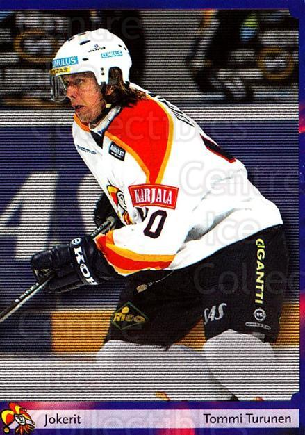 2002-03 Finnish Cardset #130 Tommi Turunen<br/>9 In Stock - $2.00 each - <a href=https://centericecollectibles.foxycart.com/cart?name=2002-03%20Finnish%20Cardset%20%23130%20Tommi%20Turunen...&quantity_max=9&price=$2.00&code=102663 class=foxycart> Buy it now! </a>