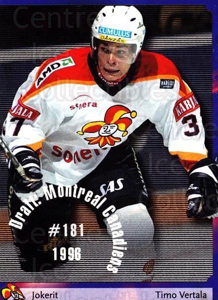 2002-03 Finnish Cardset #137 Timo Vertala<br/>9 In Stock - $2.00 each - <a href=https://centericecollectibles.foxycart.com/cart?name=2002-03%20Finnish%20Cardset%20%23137%20Timo%20Vertala...&quantity_max=9&price=$2.00&code=102670 class=foxycart> Buy it now! </a>