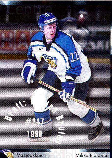 2002-03 Finnish Cardset #16 Mikko Eloranta<br/>7 In Stock - $2.00 each - <a href=https://centericecollectibles.foxycart.com/cart?name=2002-03%20Finnish%20Cardset%20%2316%20Mikko%20Eloranta...&quantity_max=7&price=$2.00&code=102692 class=foxycart> Buy it now! </a>
