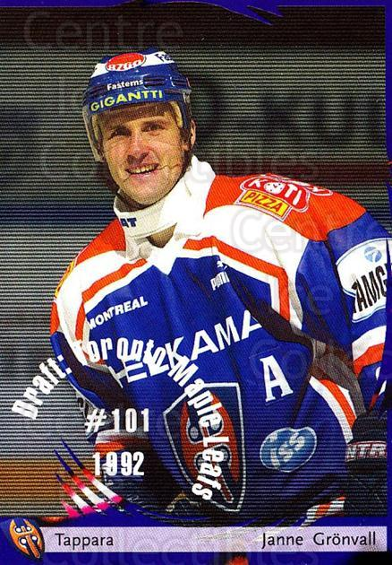 2002-03 Finnish Cardset #19 Janne Gronvall<br/>6 In Stock - $2.00 each - <a href=https://centericecollectibles.foxycart.com/cart?name=2002-03%20Finnish%20Cardset%20%2319%20Janne%20Gronvall...&quantity_max=6&price=$2.00&code=102722 class=foxycart> Buy it now! </a>