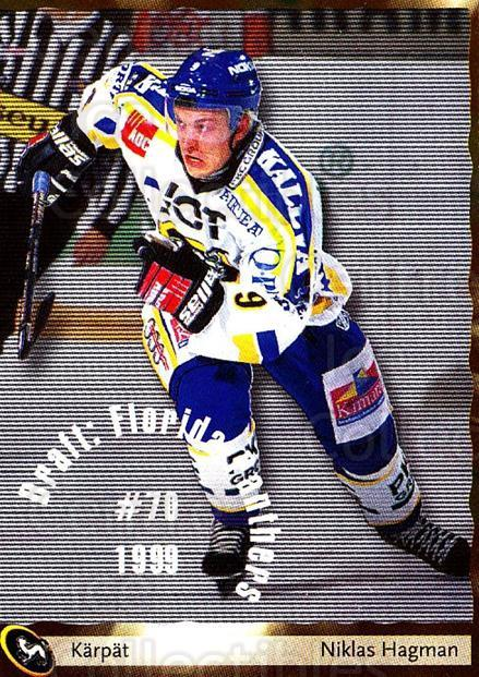 2002-03 Finnish Cardset #21 Niklas Hagman<br/>3 In Stock - $2.00 each - <a href=https://centericecollectibles.foxycart.com/cart?name=2002-03%20Finnish%20Cardset%20%2321%20Niklas%20Hagman...&quantity_max=3&price=$2.00&code=102742 class=foxycart> Buy it now! </a>