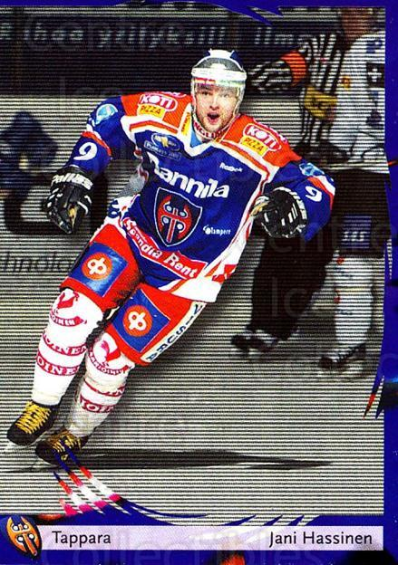 2002-03 Finnish Cardset #24 Jani Hassinen<br/>8 In Stock - $2.00 each - <a href=https://centericecollectibles.foxycart.com/cart?name=2002-03%20Finnish%20Cardset%20%2324%20Jani%20Hassinen...&quantity_max=8&price=$2.00&code=102774 class=foxycart> Buy it now! </a>