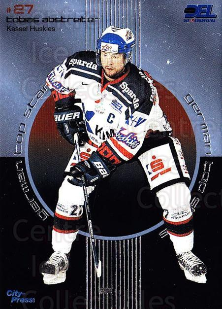 2002-03 German DEL Top Stars #2 Tobias Abstreiter<br/>6 In Stock - $3.00 each - <a href=https://centericecollectibles.foxycart.com/cart?name=2002-03%20German%20DEL%20Top%20Stars%20%232%20Tobias%20Abstreit...&quantity_max=6&price=$3.00&code=102939 class=foxycart> Buy it now! </a>