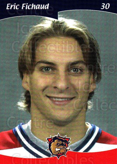 2002-03 Hamilton Bulldogs #18 Eric Fichaud<br/>1 In Stock - $3.00 each - <a href=https://centericecollectibles.foxycart.com/cart?name=2002-03%20Hamilton%20Bulldogs%20%2318%20Eric%20Fichaud...&price=$3.00&code=103155 class=foxycart> Buy it now! </a>