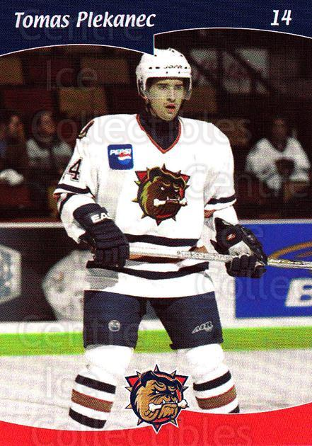 2002-03 Hamilton Bulldogs #7 Tomas Plekanec<br/>4 In Stock - $5.00 each - <a href=https://centericecollectibles.foxycart.com/cart?name=2002-03%20Hamilton%20Bulldogs%20%237%20Tomas%20Plekanec...&quantity_max=4&price=$5.00&code=103169 class=foxycart> Buy it now! </a>