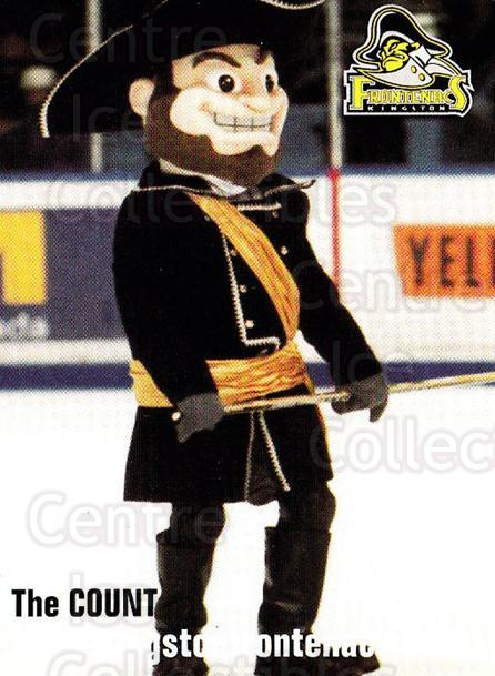 2002-03 Kingston Frontenacs #24 Mascot<br/>6 In Stock - $3.00 each - <a href=https://centericecollectibles.foxycart.com/cart?name=2002-03%20Kingston%20Frontenacs%20%2324%20Mascot...&quantity_max=6&price=$3.00&code=103299 class=foxycart> Buy it now! </a>