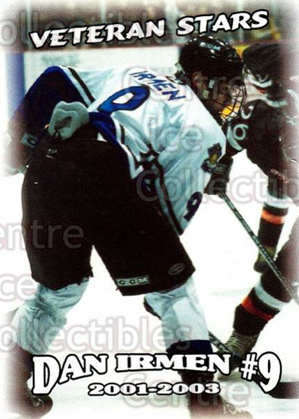 2002-03 Lincoln Stars #45 Danny Irmen<br/>2 In Stock - $3.00 each - <a href=https://centericecollectibles.foxycart.com/cart?name=2002-03%20Lincoln%20Stars%20%2345%20Danny%20Irmen...&quantity_max=2&price=$3.00&code=103342 class=foxycart> Buy it now! </a>