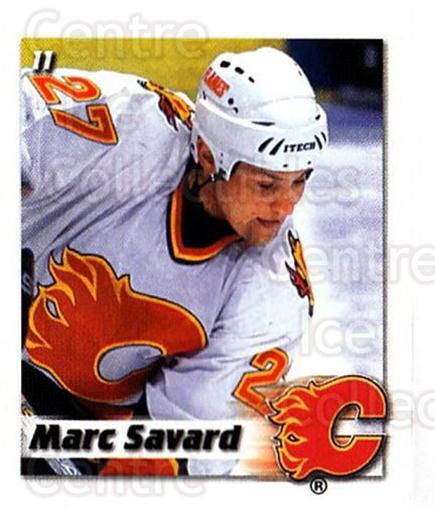 2002-03 NHL Power Play Stickers #11 Marc Savard<br/>7 In Stock - $2.00 each - <a href=https://centericecollectibles.foxycart.com/cart?name=2002-03%20NHL%20Power%20Play%20Stickers%20%2311%20Marc%20Savard...&quantity_max=7&price=$2.00&code=103521 class=foxycart> Buy it now! </a>