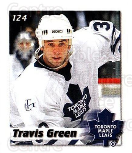 2002-03 NHL Power Play Stickers #124 Travis Green<br/>7 In Stock - $2.00 each - <a href=https://centericecollectibles.foxycart.com/cart?name=2002-03%20NHL%20Power%20Play%20Stickers%20%23124%20Travis%20Green...&quantity_max=7&price=$2.00&code=103535 class=foxycart> Buy it now! </a>